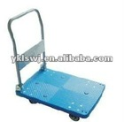 lisheng LS7010 plastic platform truck,hand cart,flat cart,push cart