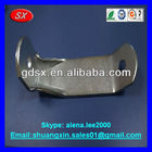 Precision Cold rold.ST.37-42 metal tensioning bolt angle-bent part,135x40x5mm blue zinc plated ODM/OEM China