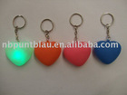 heart shaped keychain light