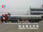 Milk tanker semi-trailer