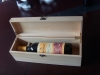 wooden wine gift box