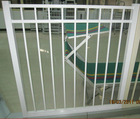 anodized aluminium fence