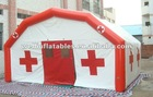 Red cross inflatable medical tent