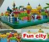 2012 inflatable funcity (alice wonderland)