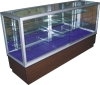 glass showcases, display case, glass box, aluminum display box