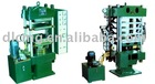 plate vulcanizing press machine