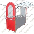 8 electric engine Mobile Fast Food Kiosk