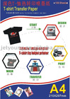 Cotton T-shirt Transfer Paper w/ Dye ink, pigment ink Or sublimation ink for Dark Color T-shirt