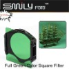 Square Full Green Color Filter