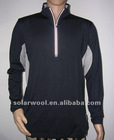 Men's Merino Mesh Zip LS