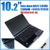 10.2 inch netbook Intel Atom D425 1.8G Memory 2GB HDD 160GB mini laptop notebook umpc epc laptops S30