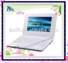 7 inch via wm8650 netbook/mini laptop with wifi/lan,support 3G