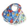 New Printed Patterns Polyester Wateproof Baby Bibs