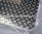Anti skid aluminum sheet floor