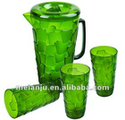 2012 fashion plastic cold water pot set