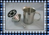 Stainless steel milk frother (WT-K006B)
