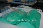 GWX makrolon Grade A transparents corruagte polycarbonate sheet