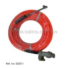 50'' PVC hose with tire inflator