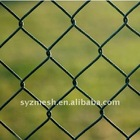 high quality low carbon galvanized wire mesh fence