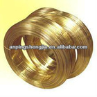 Brass Coated Steel Wire (factory)