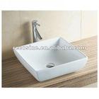 Stylish amita 486mm white counter top basin