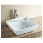 Stylish amita 486mm white counter top basin