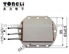 PTC heater part for water heater