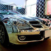 Good quality Car wrap mirror chrome vinyl