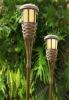 bamboo solar light,flickering,solar light