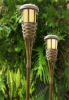 bamboo solar light,flickering,solar light