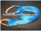 Eye&eye double-ply polyester towing straps