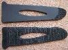 PVC strap end
