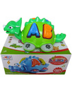 Electronic carton crocodile toys with music for children