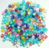 Cheap Plastic Alphabet Beads 6mm