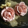 2012Newest Resin Flower for decorating necklace Pendant or ring 38mm