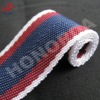 38mm flat striped polyester webbing