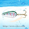 hard metal fishing lure spoon
