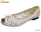 ladies fashion flat ballerina shoes