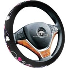 Beautiful Textile Car Steering Wheel Covers