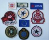 woven patches woven badge for clothing garment apparel
