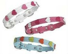 heart dog collar with leash
