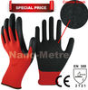 NMSAFETY working gloves ce mark industrial nitrile gloves