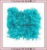 TURQUOISE & GOLD Feather Boa Fabulous Full & Fluffy