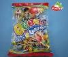 lollipop with bubble gum