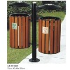 Outdoor Wooden dustbin