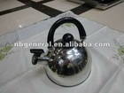 2012 new and cheap water kettle/whistling kettle/camping kettle
