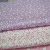 100% cotton twill fabric for hometextile/garment