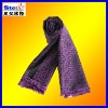 ST-SC08#2013winter men's checked cotton/wool/cashmere tassel knitted jacquard scarf
