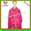 Pink triangle shawl scarf