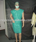 disposable surgical gown short sleeve type